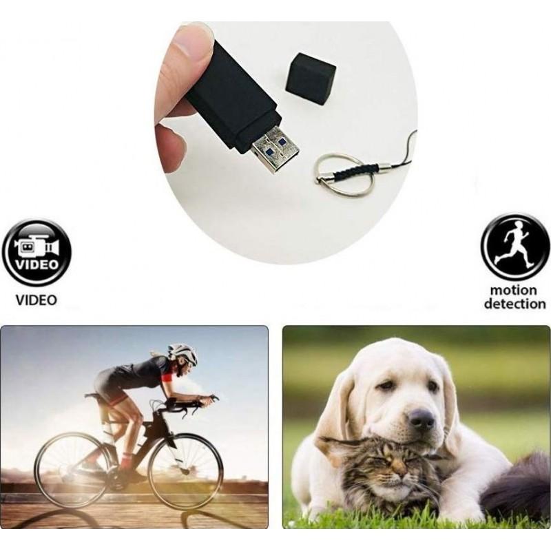 49,95 € Envoi gratuit | Clé USB Espion Clé USB. Caméra cachée. Magnétoscope. 1080P HD. Mini U-Disk Portable