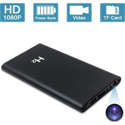 45,95 € Spedizione Gratuita | Altre Telecamere Nascoste Power Bank portatile con telecamera nascosta. 1080P. 5000mAh. Registrazione a lungo termine. Nessun WiFi necessario