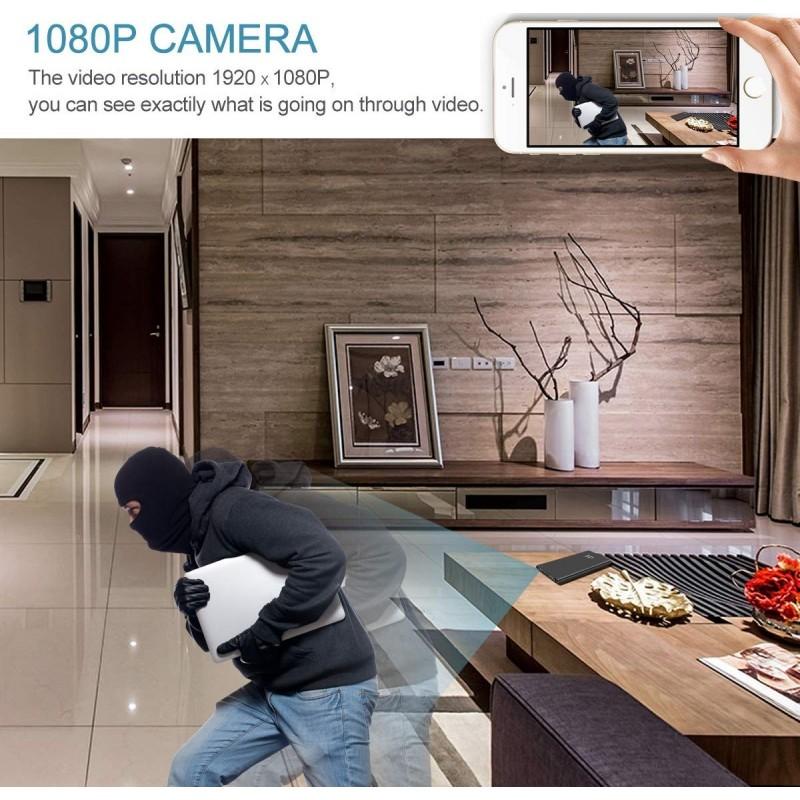 45,95 € Envoi gratuit | Autres Caméras Espion Portable Power Bank avec caméra cachée. 1080P. 5000mAh. Enregistrement longue durée. Pas de WiFi nécessaire