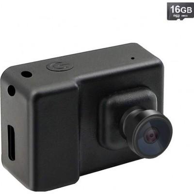 43,95 € 送料無料   時計隠しカメラ 監視カメラ。ミニDVカムコーダー。ビデオボイスレコーダー。フルHD。 1080P。 (16Gカードを使用)