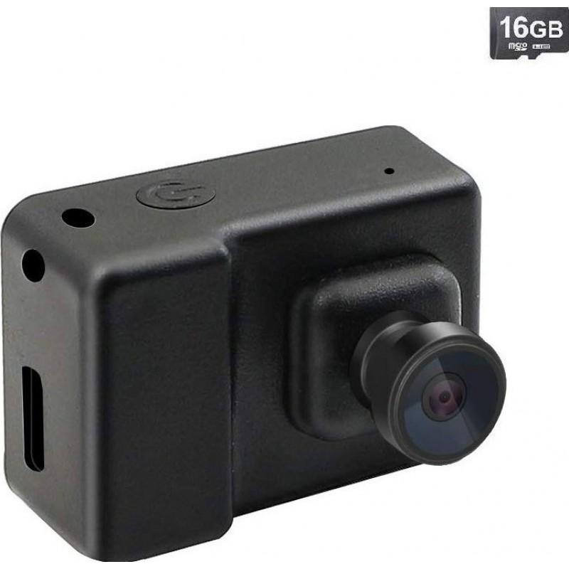 43,95 € 免费送货 | 时钟隐藏的相机 监控摄像机。微型DV便携式摄像机。视频录音机。全高清。 1080P。 (带16G卡)