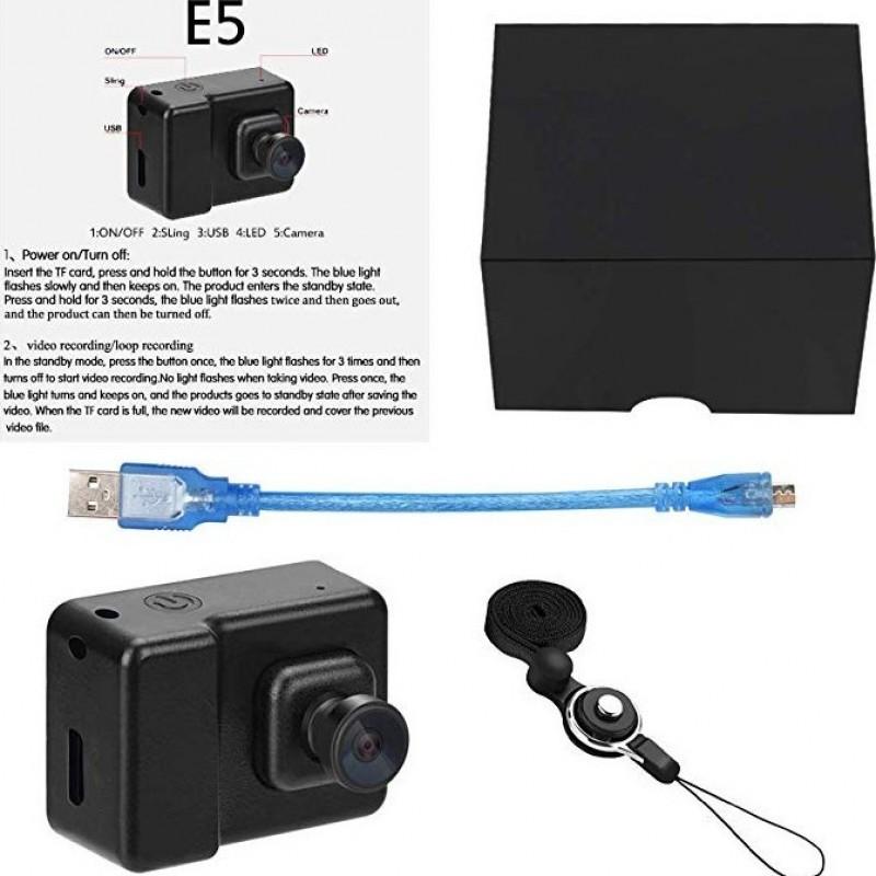 43,95 € Spedizione Gratuita | Orologi Spia Telecamera di sorveglianza .Mini DV Videocamera. Videoregistratore vocale. Full HD. 1080P. (con carta 16G)