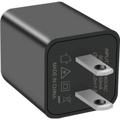 41,95 € 免费送货   隐藏的间谍配件 小型摄像机用于视频监控。迷你间谍相机。保姆·坎。高清1080P。运动检测。 16G SD卡