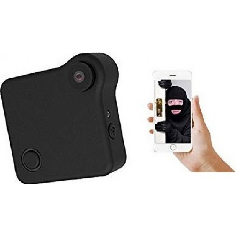 55,95 € Free Shipping | Other Hidden Cameras Mini Camera. HD 720P. WiFi. IP Camera. Wireless. Motion Detection. P2P. Bike Camera. Magnetic