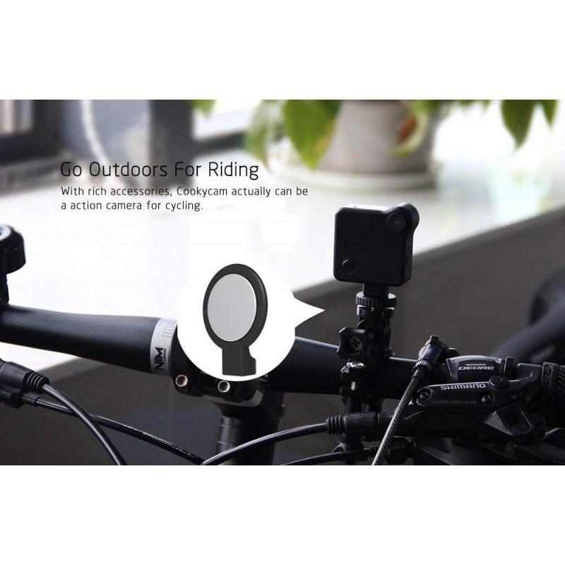 55,95 € Spedizione Gratuita   Altre Telecamere Nascoste Mini fotocamera. HD 720P. Wi-Fi. Telecamera IP. Senza fili. Motion Detection. P2P. Bike Camera. Magnetico
