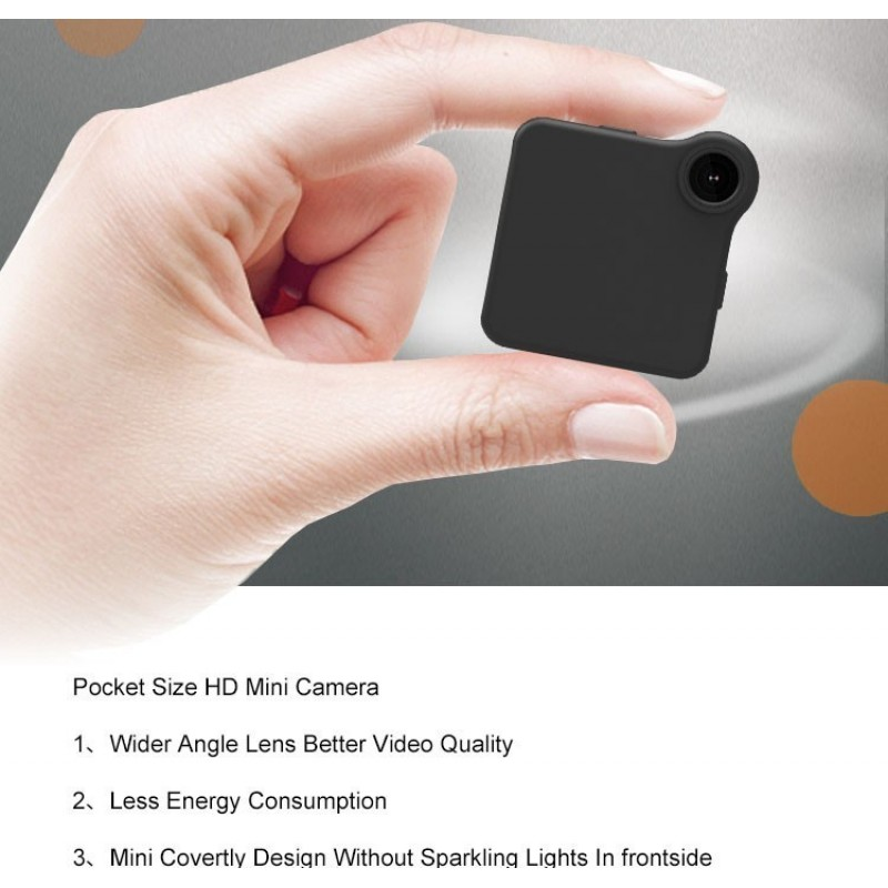 62,95 € Spedizione Gratuita | Altre Telecamere Nascoste Mini HD Action Cam. Bike Camera. Senza fili. DV DVR. Video e voce. Sensore di movimento. Loop Recorder. MP4 H.264
