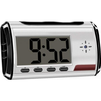 22,95 € Free Shipping | Clock Hidden Cameras Clock with Hidden Camera. Spy Camera. Long Time Video Recording. Security Camera. Nanny Cam