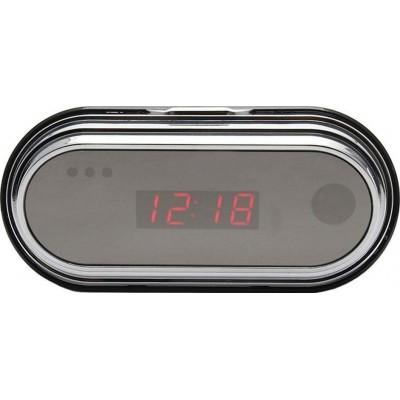 25,95 € 送料無料   時計隠しカメラ 隠しカメラ付きLED時計。無線。リモコン。 1080P。多機能。動体検知