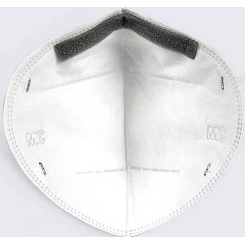 219,95 € 送料無料   50個入りボックス 呼吸保護マスク 3M モデル9501 KN95 FFP2。呼吸保護マスク。 PM2.5汚染防止マスク。粒子フィルターマスク