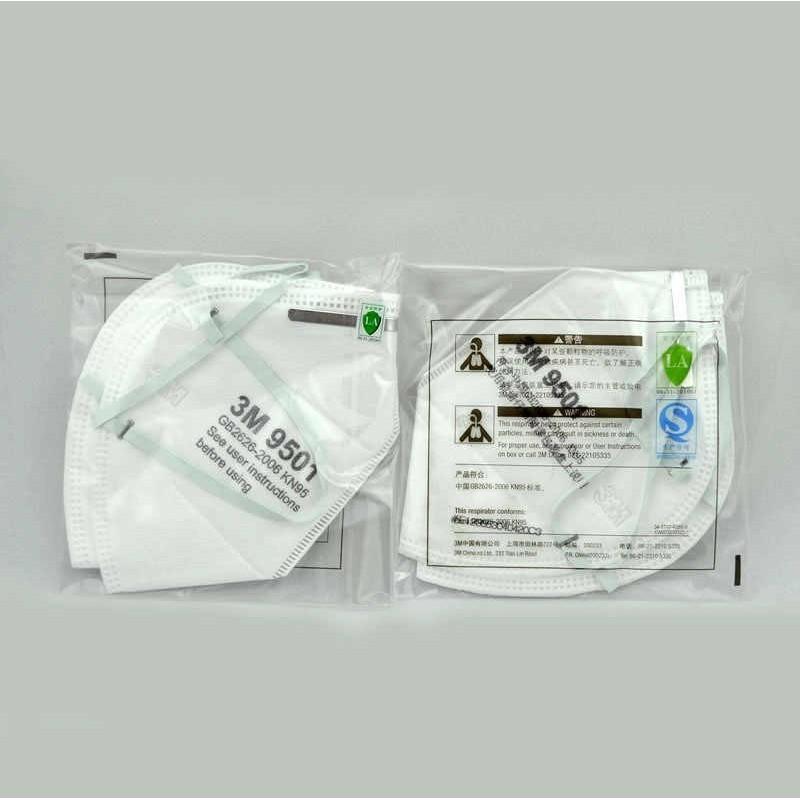 219,95 € Envio grátis | Caixa de 50 unidades Máscaras Proteção Respiratória 3M Modelo 9501 KN95 FFP2. Máscara de proteção respiratória. Máscara anti-poluição PM2.5. Filtro de partículas