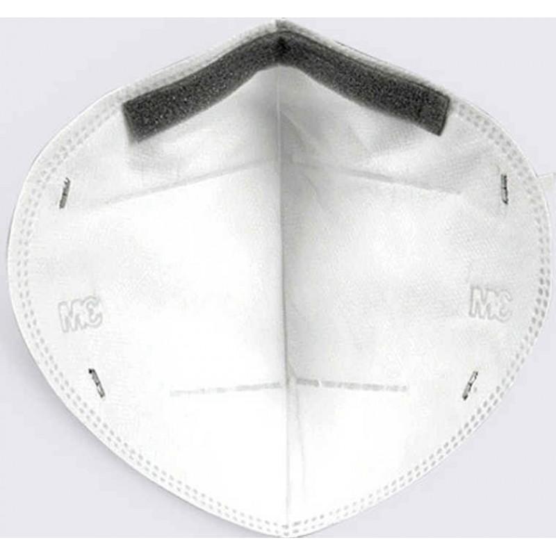 Scatola da 2 unità Maschere Protezione Respiratorie 3M Modello 9501 KN95 FFP2. Maschera di protezione delle vie respiratorie. Maschera antinquinamento PM2.5. Filtro antiparticolato
