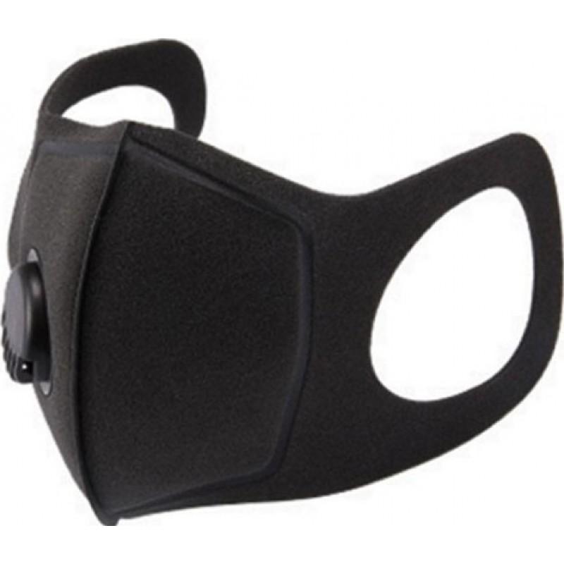 265,95 € 送料無料 | 100個入りボックス 呼吸保護マスク 呼吸弁付き活性炭フィルターマスク。 PM2.5。洗える、再利用可能な綿のマスク。ユニセックス