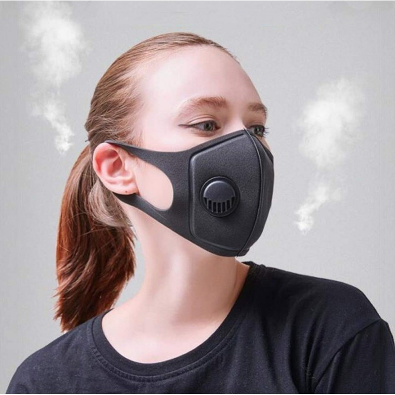 239,95 € Free Shipping | 100 units box Respiratory Protection Masks Activated carbon filter mask. breathing valve. PM2.5. Washable and Reusable cotton mask. Unisex