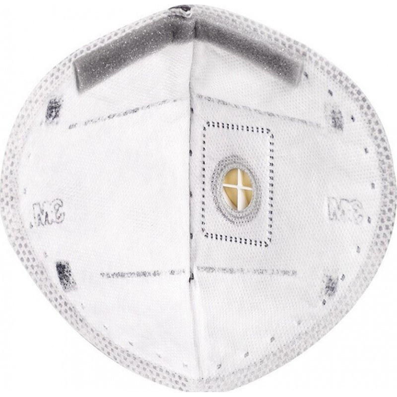 349,95 € Kostenloser Versand | 50 Einheiten Box Atemschutzmasken 3M 9542 V KN95 FFP2. Atemschutzmaske mit Ventil. PM2.5 Partikelfilter-Atemschutzgerät