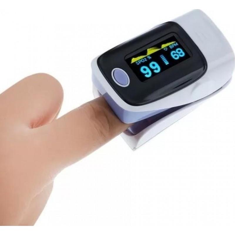 149,95 € Envio grátis | Caixa de 5 unidades Máscaras Proteção Respiratória Oxímetro de pulso digital