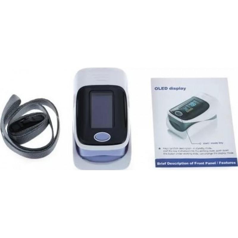 149,95 € Бесплатная доставка | Коробка из 5 единиц Респираторные защитные маски Цифровой пульсоксиметр