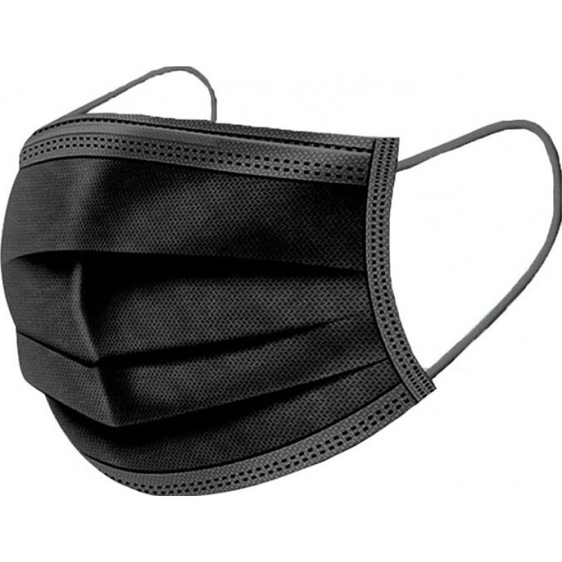 159,95 € Free Shipping | 1000 units box Respiratory Protection Masks Disposable facial sanitary mask. Respiratory protection. Breathable with 3-layer filter