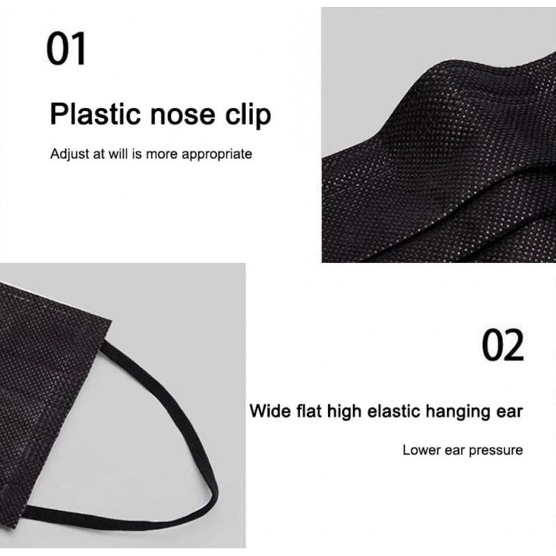 159,95 € Envio grátis | Caixa de 1000 unidades Máscaras Proteção Respiratória Máscara sanitária facial descartável. Proteção respiratória. Respirável com filtro de 3 camadas