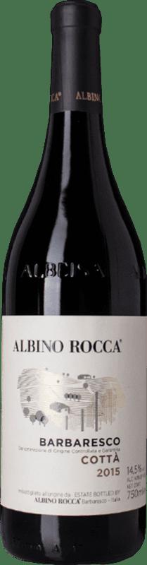 52,95 € Free Shipping | Red wine Albino Rocca Cottà D.O.C.G. Barbaresco Piemonte Italy Nebbiolo Bottle 75 cl