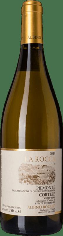 21,95 € Free Shipping | White wine Albino Rocca Cortese La Rocca D.O.C. Piedmont Piemonte Italy Cortese Bottle 75 cl