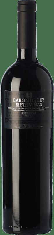 25,95 € Free Shipping | Red wine Barón de Ley 7 Viñas Reserva D.O.Ca. Rioja The Rioja Spain Tempranillo, Grenache, Graciano, Mazuelo, Viura, Malvasía Bottle 75 cl