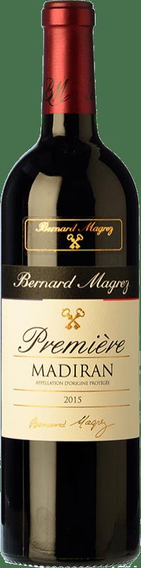 12,95 € Free Shipping   Red wine Bernard Magrez Premiere Crianza A.O.C. Madiran Pyrenees France Cabernet Franc, Tannat Bottle 75 cl