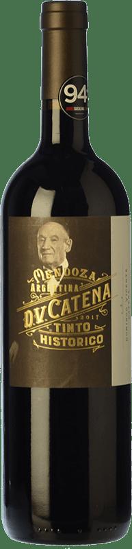 14,95 € Free Shipping | Red wine Catena Zapata D.V. Tinto Histórico Crianza I.G. Mendoza Mendoza Argentina Malbec, Petit Verdot, Bonarda Bottle 75 cl