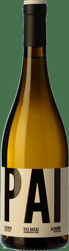 19,95 € Free Shipping | White wine Albamar PAI Crianza D.O. Rías Baixas Galicia Spain Albariño Bottle 75 cl