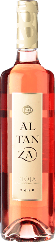 8,95 € Free Shipping | Rosé wine Altanza Rosado D.O.Ca. Rioja The Rioja Spain Tempranillo Bottle 75 cl