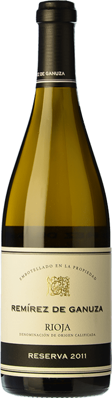 68,95 € Free Shipping   White wine Remírez de Ganuza Blanco Reserva D.O.Ca. Rioja The Rioja Spain Grenache, Viura, Malvasía Bottle 75 cl