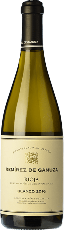 29,95 € Free Shipping   White wine Remírez de Ganuza Blanco Fermentado en Barrica Crianza D.O.Ca. Rioja The Rioja Spain Grenache, Viura, Malvasía Bottle 75 cl