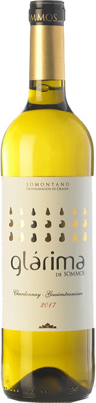 5,95 € Free Shipping | White wine Sommos Glárima Gewürztraminer Chardonnay D.O. Somontano Catalonia Spain Chardonnay, Gewürztraminer Bottle 75 cl