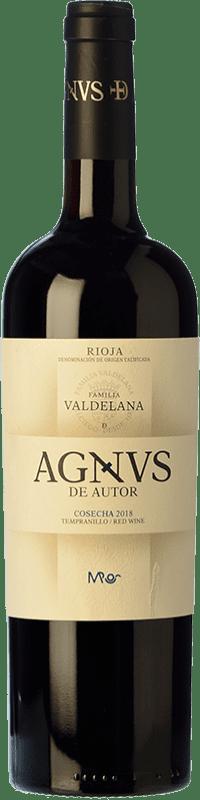 11,95 € Free Shipping   Red wine Valdelana Agnvs Joven D.O.Ca. Rioja The Rioja Spain Tempranillo Bottle 75 cl