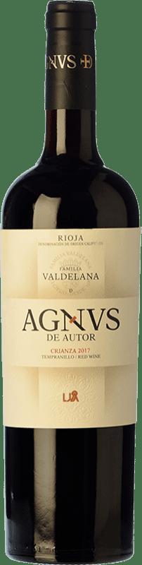 14,95 € Free Shipping   Red wine Valdelana Agnvs Crianza D.O.Ca. Rioja The Rioja Spain Tempranillo, Graciano Bottle 75 cl