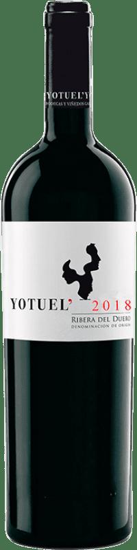 9,95 € Free Shipping | Red wine Gallego Zapatero Yotuel Roble D.O. Ribera del Duero Castilla y León Spain Tempranillo Bottle 75 cl