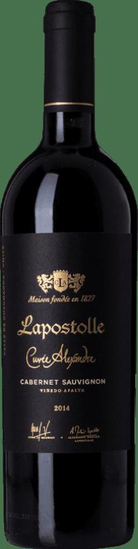 228,95 € Free Shipping | Red wine Lapostolle Cuvée Alexandre I.G. Valle de Rapel Rapel Valley Chile Cabernet Sauvignon Bottle 75 cl