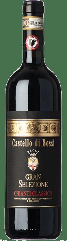 45,95 € Free Shipping   Red wine Castello di Bossi Gran Selezione D.O.C.G. Chianti Classico Tuscany Italy Sangiovese Bottle 75 cl