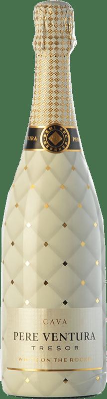 21,95 € Free Shipping | White sparkling Pere Ventura Tresor White on the Rocks Brut D.O. Cava Spain Macabeo, Xarel·lo, Parellada Bottle 75 cl