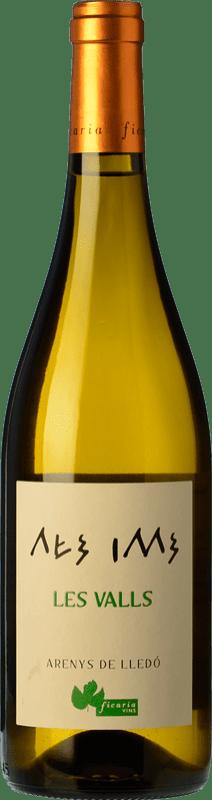 12,95 € Free Shipping | White wine Ficaria Les Valls Blanco Crianza Spain Grenache White Bottle 75 cl