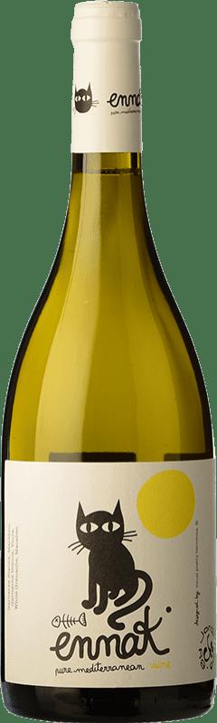 6,95 € Free Shipping | White wine Jordi Miró Ennak Blanc D.O. Terra Alta Catalonia Spain Viura, Grenache White Bottle 75 cl