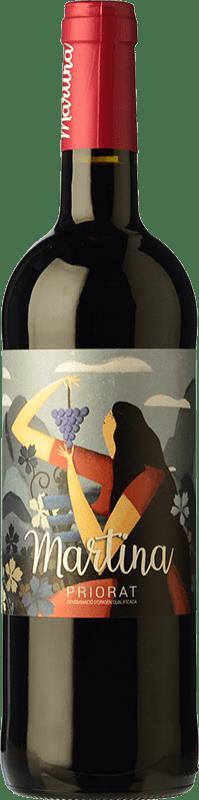 11,95 € Free Shipping | Red wine Sabaté Martina Negre Joven D.O.Ca. Priorat Catalonia Spain Carignan Bottle 75 cl