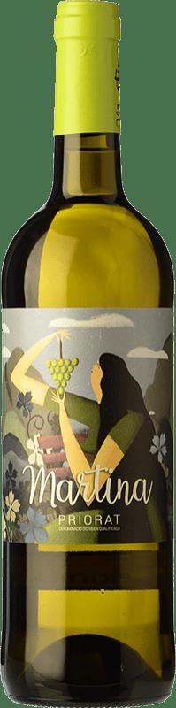 11,95 € Free Shipping | White wine Sabaté Martina Blanc D.O.Ca. Priorat Catalonia Spain Grenache White, Muscat, Macabeo Bottle 75 cl
