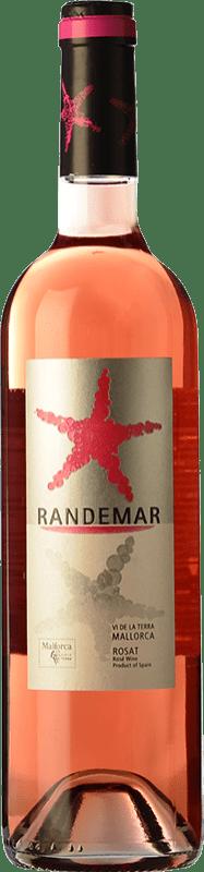 9,95 € Free Shipping | Rosé wine Tianna Negre Randemar Rosat I.G.P. Vi de la Terra de Mallorca Majorca Spain Cabernet Sauvignon, Mantonegro Bottle 75 cl