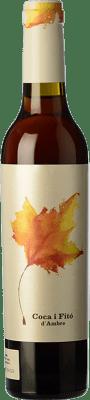 26,95 € Free Shipping | Sweet wine Coca i Fitó d'Ambre D.O. Terra Alta Catalonia Spain Grenache White, Garnacha Roja Half Bottle 37 cl