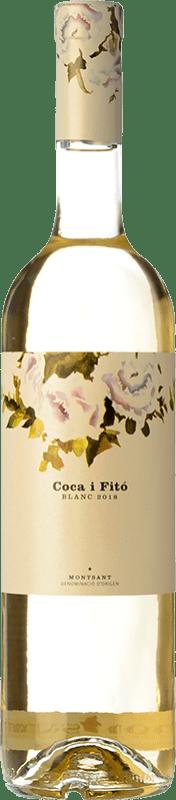 14,95 € Free Shipping | White wine Coca i Fitó Blanc D.O. Montsant Catalonia Spain Grenache White, Macabeo Bottle 75 cl
