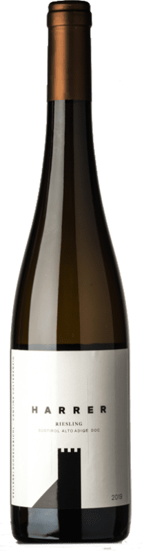 17,95 € Free Shipping | White wine Colterenzio Harrer D.O.C. Alto Adige Trentino-Alto Adige Italy Riesling Bottle 75 cl