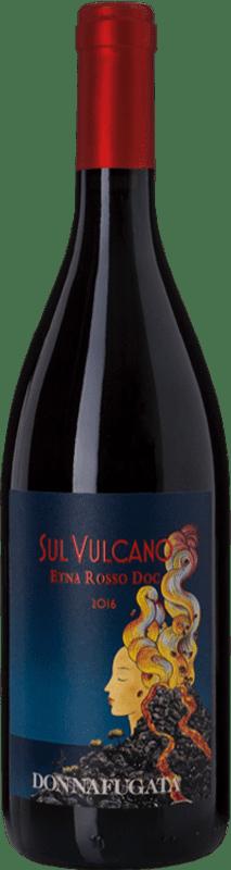 24,95 € Free Shipping | Red wine Donnafugata Rosso Sul Vulcano D.O.C. Etna Sicily Italy Nerello Mascalese Bottle 75 cl