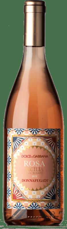 27,95 € Free Shipping | Rosé wine Donnafugata Rosato Dolce & Gabbana Rosa D.O.C. Sicilia Sicily Italy Nerello Mascalese, Nocera Bottle 75 cl