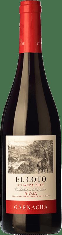 10,95 € Free Shipping | Red wine Coto de Rioja Crianza D.O.Ca. Rioja The Rioja Spain Grenache Bottle 75 cl