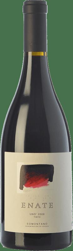 149,95 € Free Shipping | Red wine Enate Uno Tinto Crianza 2010 D.O. Somontano Catalonia Spain Syrah, Cabernet Sauvignon Bottle 75 cl